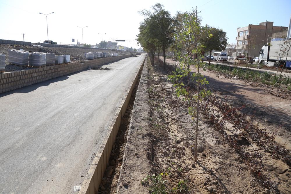 پیشرفت 80 درصدی پروژه پارک خطی فولاد