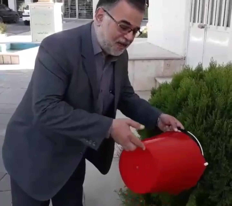 شهردار نیشابور خبر داد: راه اندازی چالش «هر شهروند یک سطل آب» در نیشابور