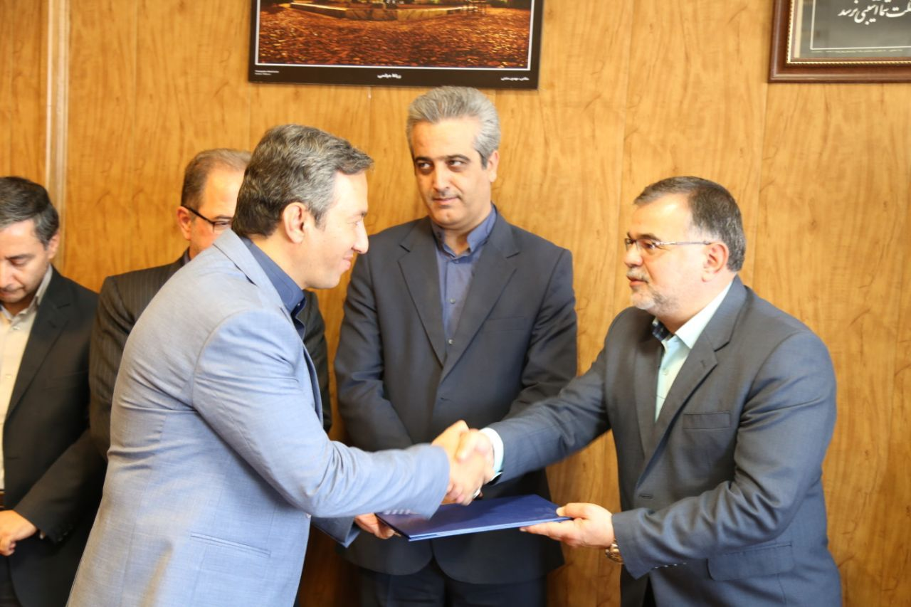 همزمان با شورای اداری شهرداری صورت گرفت: معارفه مدیر ناحیه ویژه بافت تاریخی عطار و خیام