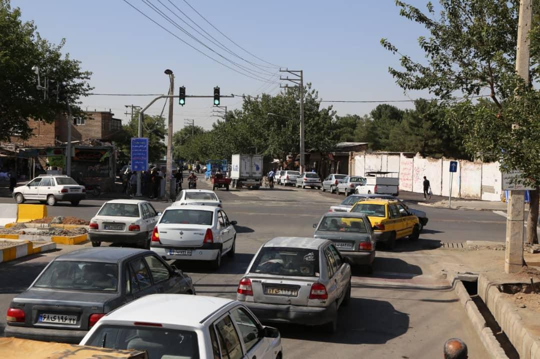 در راستای ساماندهی ترافیکی خیابان امام (ره): ادامه بولوار جهاد بازگشایی شد
