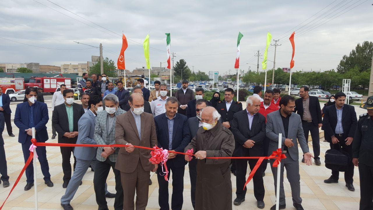 افتتاح 4 پروژه عمرانی و خدماتی شهرداری نیشابور