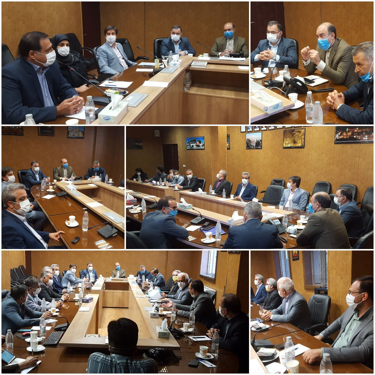 جلسه هیات عالی سرمایه گذاری شهرداری نیشابور و ارائه دو طرح بزرگ سرمایه گذاری با مشارکت شهرداری نیشابور
