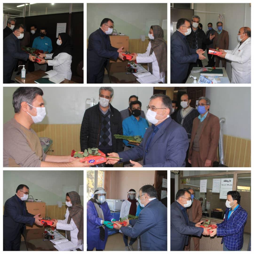 به مناسبت هفته گرامیداشت مقام پرستار صورت گرفت: تقدیر از کادر درمان درمانگاه شهرداری نیشابور
