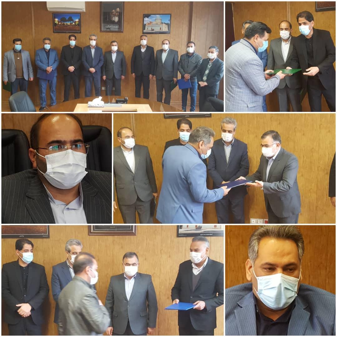 انتصابات جدید در شهرداری نیشابور