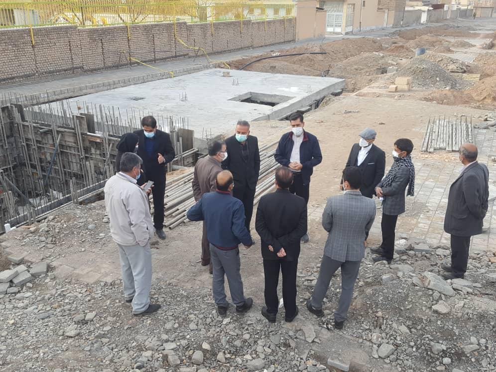 بازدید صبحگاهی شهردار نیشابور از پروژه های عمرانی