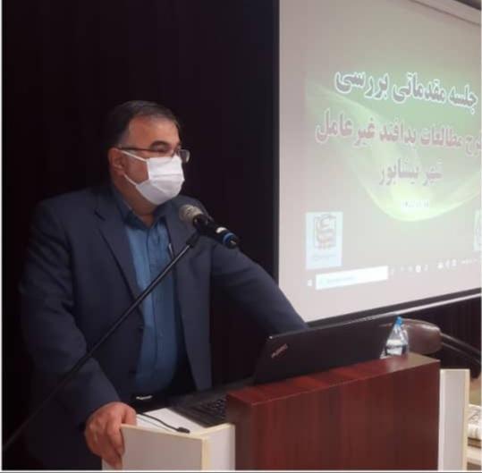 بررسی مقدماتی طرح جامع پدافند غیر عامل شهر نیشابور ، یک جلسه تخصصی در سالن شهید آوینی