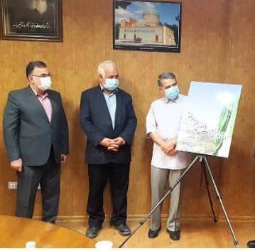 رونمایی از پوستر همایش علمی میراث معنوی حضور امام رضا (ع) در ایران و توسعه پایدار شهری