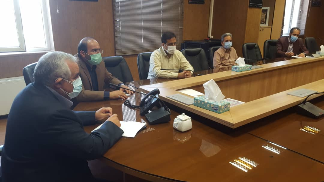برگزاری جلسه ستاد  مبارزه با ویروس کرونا شهرداری نیشابور