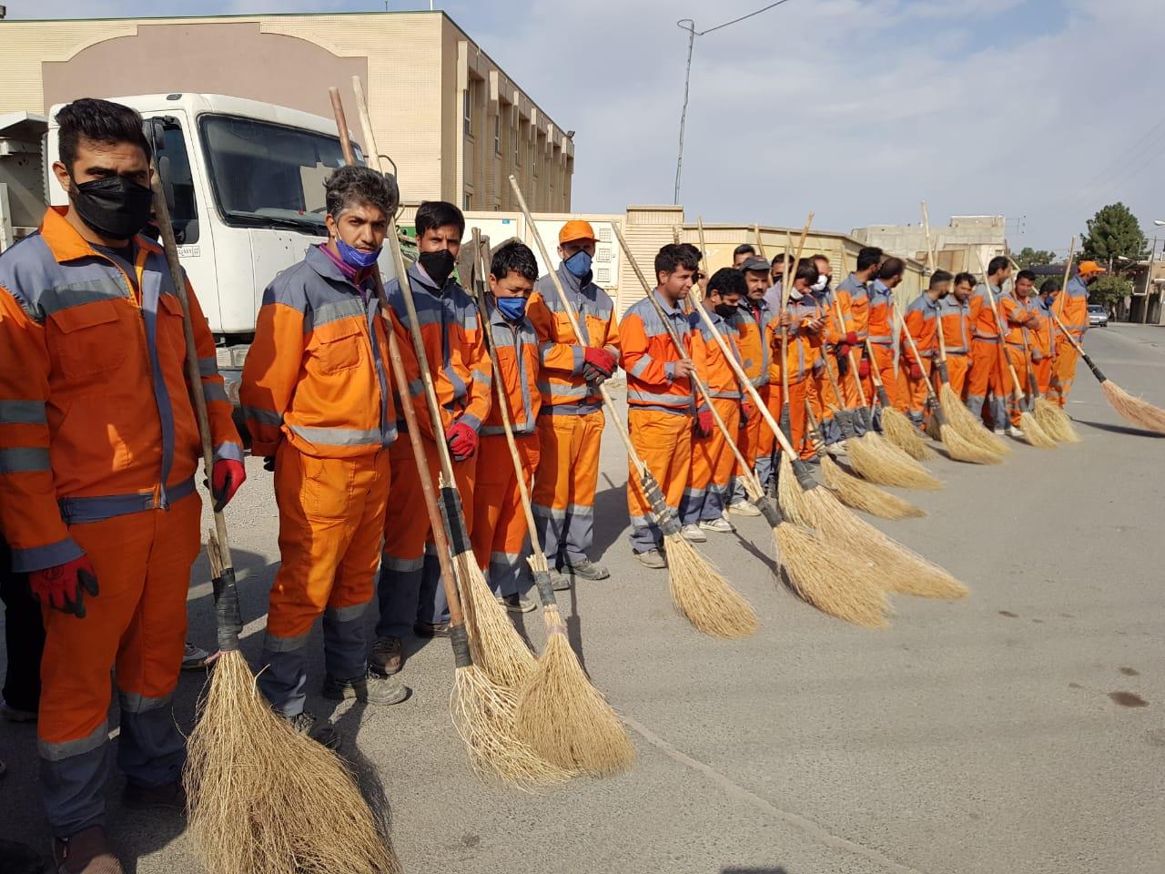 طرح ویژه پاکسازی محلات توسط شهرداری نیشابور