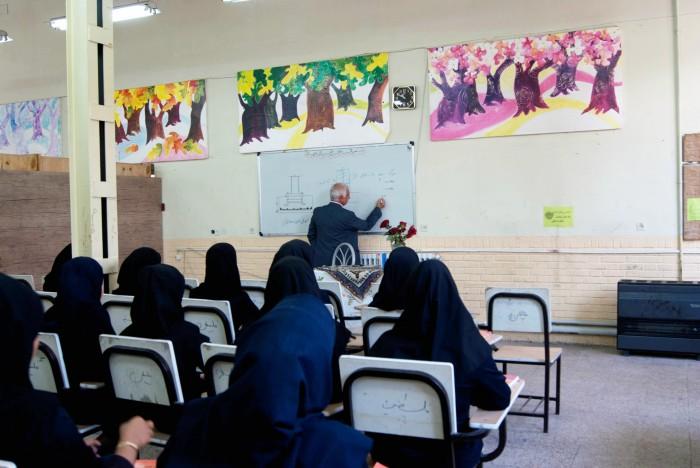 تدریس نمادین شهردار نیشابور در هفته گرامیداشت مقام معلم