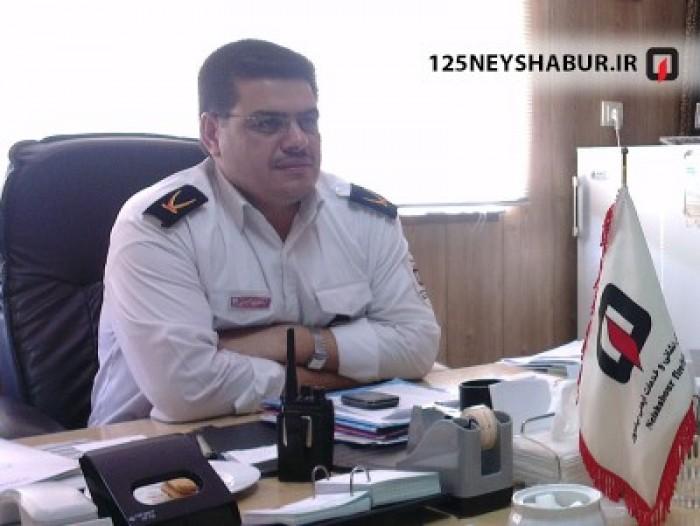 مدیر عامل سازمان اتش نشانی و خدمات ایمنی شهرداری نیشابور به عنوان عضو کمیته بازرسی و ارزیابی سازمان ها و واحدهای آتش نشانی استان منصوب شد