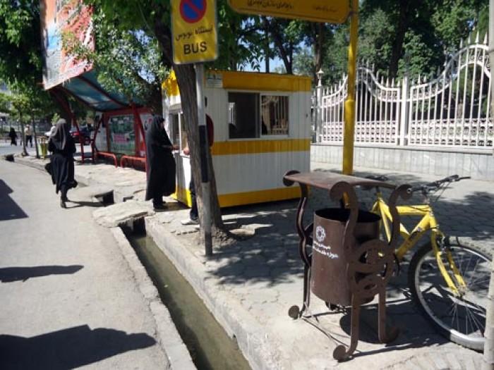 150 سطل زباله جدید در نقاط مختلف شهر نصب شد