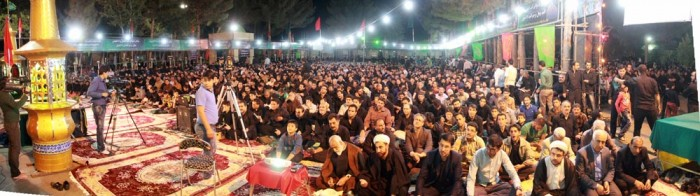 مراسم احیای شب های قدر در نیشابور برگزار شد