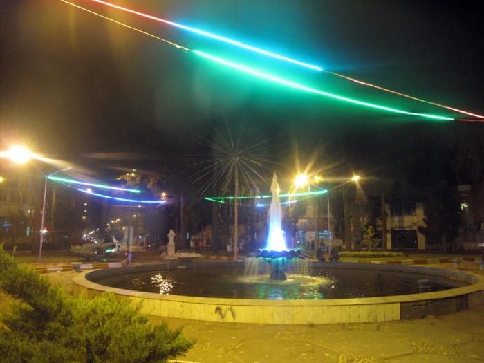 کارگروه تخصصی نورپردازی پارک ها و معابر سطح شهر تشکیل شد
