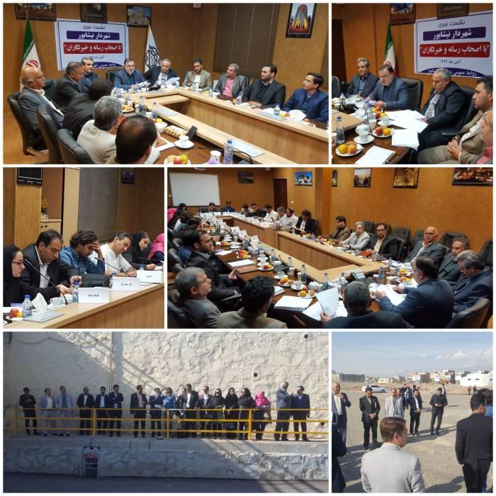 عملکرد یکساله شهردار نیشابور در نشست خبری تشریح شد