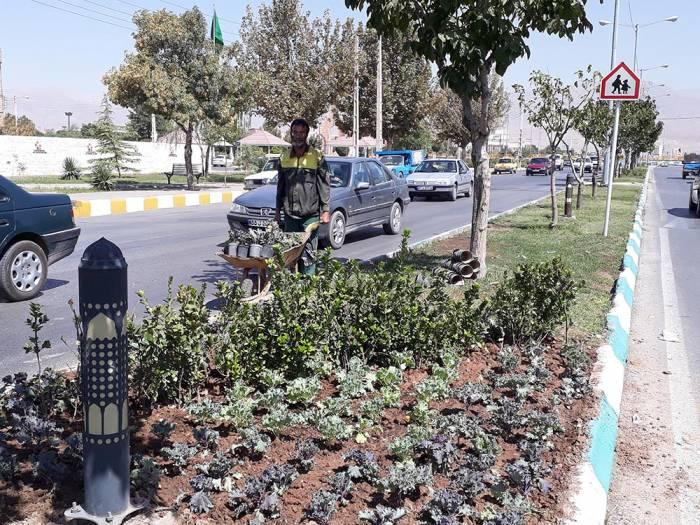 دو گل به ازای هر شهروند نیشابوری کاشته میشود